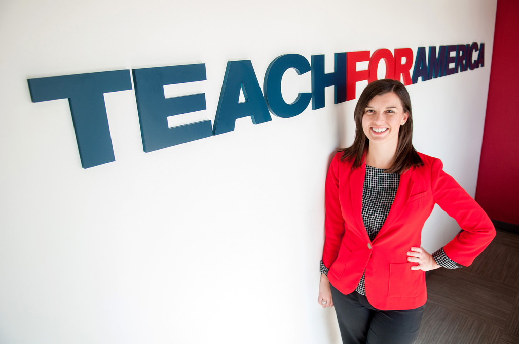(Photo by Don Kadair) Teach for America South Louisiana Executive Director Laura Vinsant